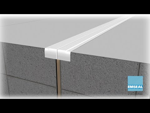 RoofJoint Watertight Expansion Joint and Wall Transitions
