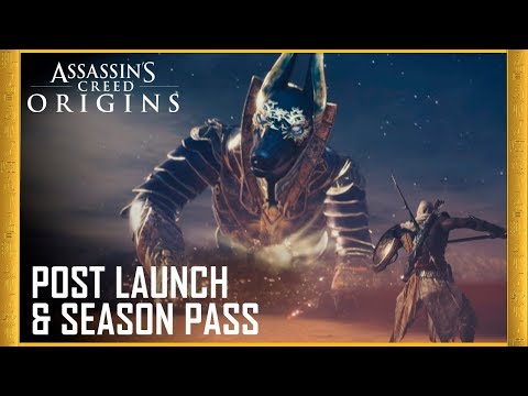 Assassin's Creed Origins: Post Launch & Season Pass | Trailer | Ubisoft [US] thumbnail