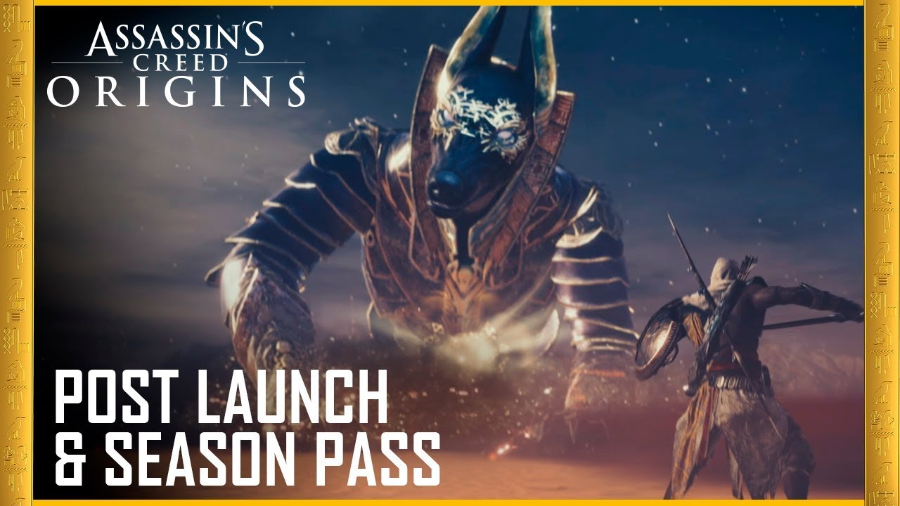 assassins creed origins ps4 dlc code
