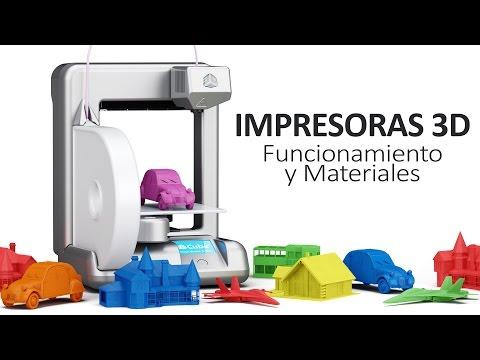 Impresoras 3D   Qué son, cómo funcionan y materiales