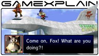 Smash Bros 3DS: Secret Star Fox Conversations in Corneria (Easter Egg)