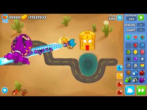 Bloons TD 6 Glitch - How To Get ALL Heroes On The Map At
