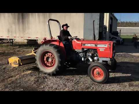 1999 M5030SU Kubota 2WD W/ Offset Flails Mower | Mark S  Knoch Auctions