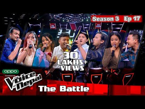 The Voice of Nepal Season 3 - 2021 - Episode 17 (The Battles)