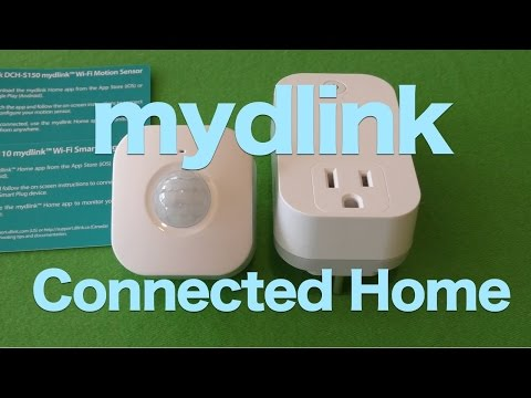 D-Link Wi-Fi Motion Sensor and Wi-Fi Smart Plug Review, myDlink Connected Home