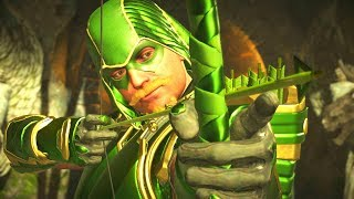 Injustice 2 - NEW Green Arrow Epic Gear Set (Green Arrow Hood)