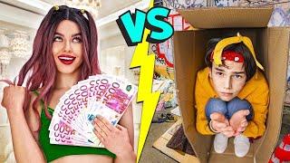 GIRLS vs BOYS! Bad student vs good student 24 hours epic body swap!