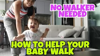 HOW TO HELP BABY WALK |10MONTH OLD CAN WALK #Child Development #Baby Walking