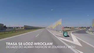 ALMAX-FASHION Zduńska Wola - dojazd do firmy