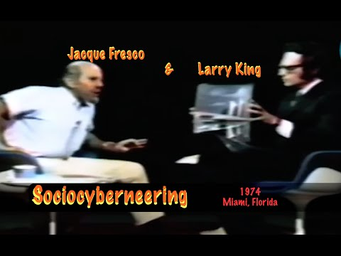 Jacque Fresco & Larry King - Sociocyberneering - 1974 (bg Subs) Mp3