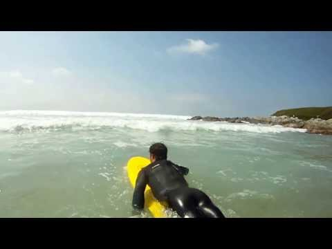"Osprey Foam Surf Board – The ""Foamie"" does Fistral"