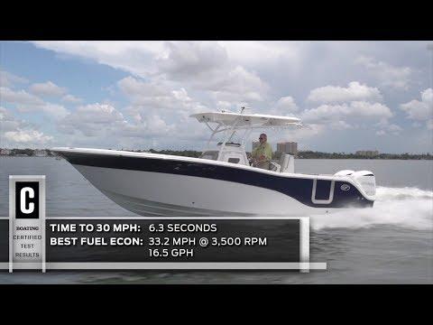 Sea Fox 328 Commander video