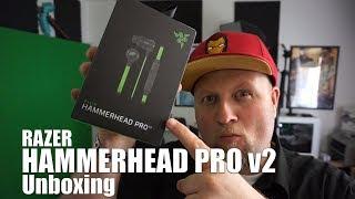 RAZER Hammerhead Pro v2 Unboxing Deutsch