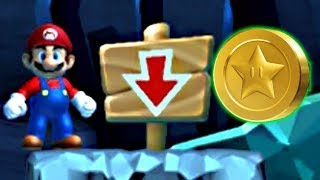New Super Mario Bros U Deluxe: All Star Coin Locations & Secret Exit - World 1