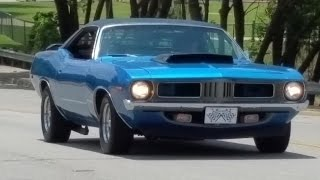 Plymouth Barracuda 440 muscle car