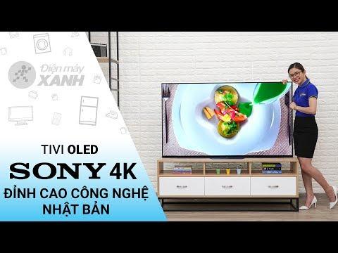 Android Tivi OLED Sony 4K 65 inch KD - 65A8F! Siêu phẩm công nghệ từ Sony! | Điện máy XANH