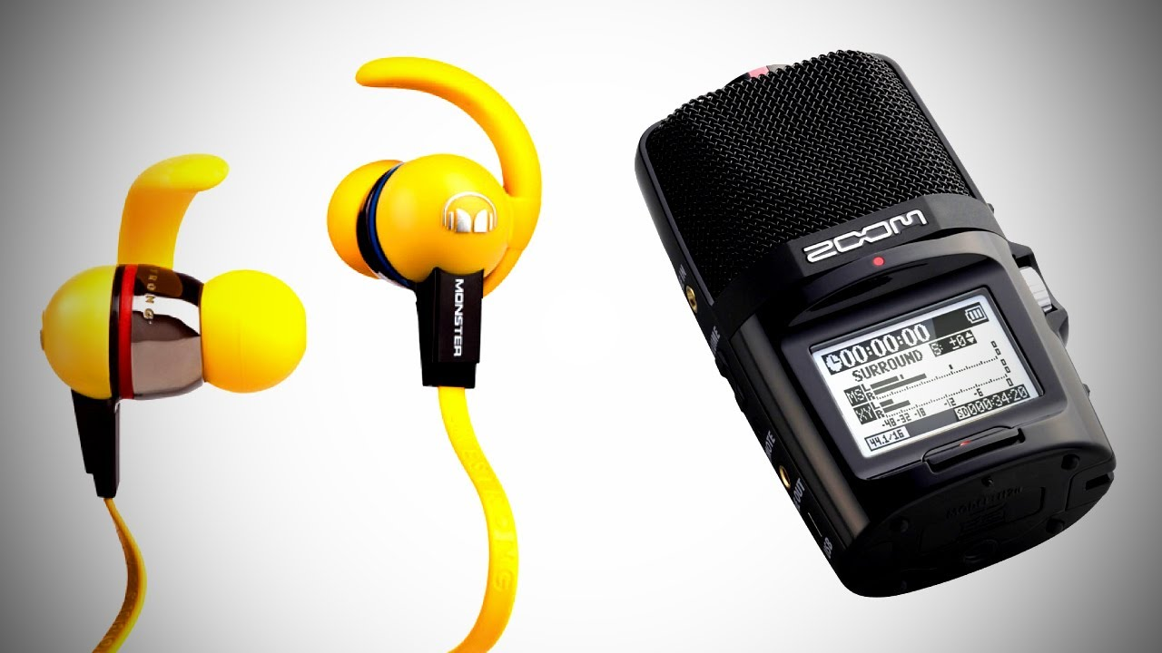 In Review: Monster iSport Immersion Headphones + Zoom H2N Audio Recorder thumbnail