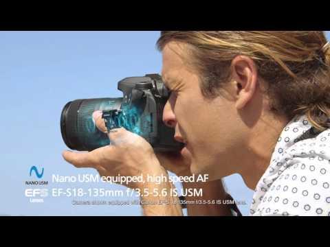 Canon EOS 80D DSLR Camera: Focus with Precision