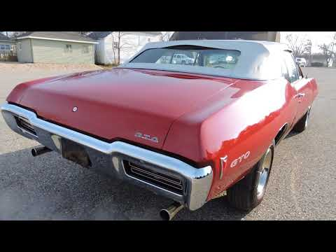 Video of '68 GTO - M745