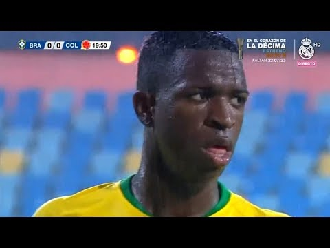 Vinicius Jr vs Colombia U-20 | Every Touch | 20/11/2018