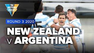 Tri Nations 2020 | New Zealand v Argentina - Rd 3 Highlights