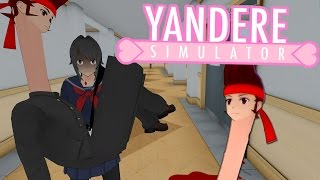 HILARIOUS DISFIGURED STUDENTS & CREEPY BURNED KOKONA | Yandere Simulator Myths