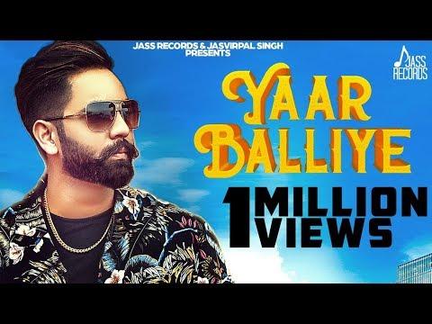 Yaar Balliye | (Full HD) | Johar | New Punjabi Songs 2019 | Latest Punjabi Songs 2019