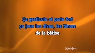 Karaoké Comme Ils Disent   Charles Aznavour *
