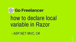 how to declare local variable in Razor asp net mvc
