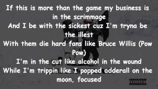 Machine Gun Kelly - Skate Cans Lyrics