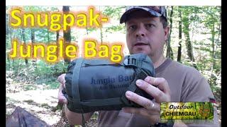 Snugpak - Jungel Bag  Schlafsack - Erfahrungsbericht, Tips und Tricks dazu - Sommerschlafsack