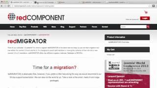 Migrating sites from Joomla 1.5 into Joomla 2.5 or 3.x