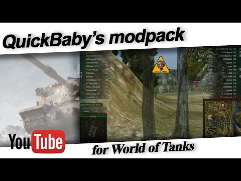 wot quickybaby 1.4 mod pack