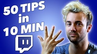 50 GAME CHANGING STREAM TIPS YOU SHOULD KNOW In 10 MINUTES