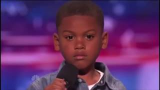 7 Year Old Raps TAY K X THE RACE On America's Got Talent ( Shocks Judges)