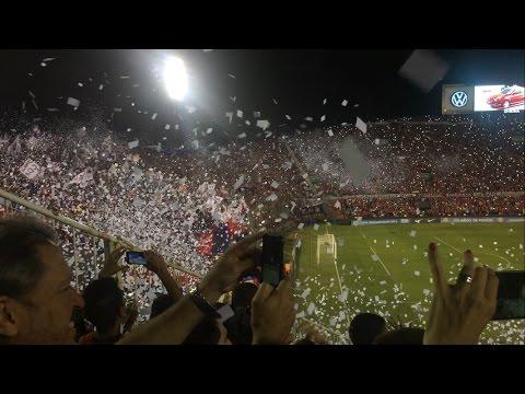 """""""RECIBIMIENTO ESPECTACULAR - Cerro Porteño vs Independiente Medellín"""" Barra: La Plaza y Comando • Club: Cerro Porteño • País: Paraguay"""
