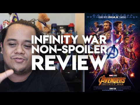 #ZHAFVLOG - DAY 116/365 - Infinity War Non-spoiler Review | Marvel Studios | Malaysia