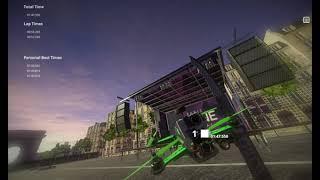 Liftoff Drone Simulator: Paris race 2 (2 races)