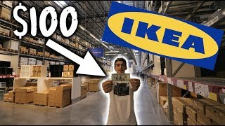 MAKE A DOPE HYPEBEAST ROOM FOR UNDER $100 AT IKEA!!! (Must-Watch)