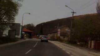 preview picture of video 'Border crossing Moravske Lieskove(SK)-Strani(CZ)'