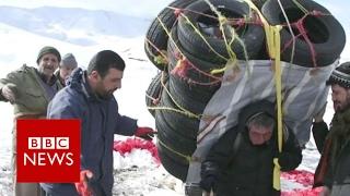 The gruelling life of a Kurdish smuggler - BBC News