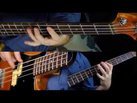 Easy Pentatonic Riffs - Bass Guitar Lesson