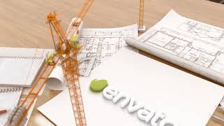 I Will Make This Creative CONSTRUCTION BUILDING Logo Intro