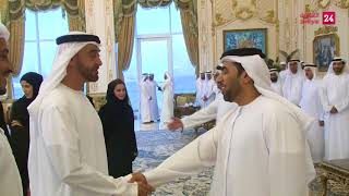 Mohamed bin Zayed receives organising committee of Qudwa Forum