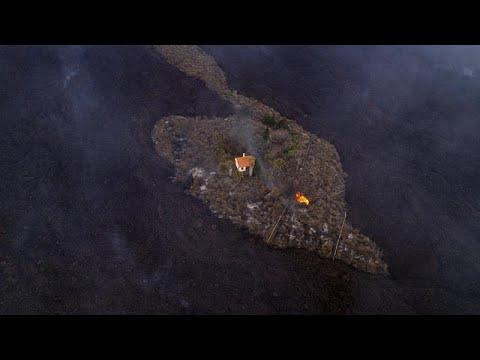 Λα Πάλμα: Συνεχίζεται η κασταστροφή από το ηφαίστειο Κούμπρε Βιέχα…