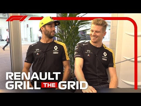 Video | Grill The Grid met Daniel Ricciardo en Nico Hülkenberg