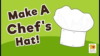 How To Make A DIY Chef's Hat For Kids