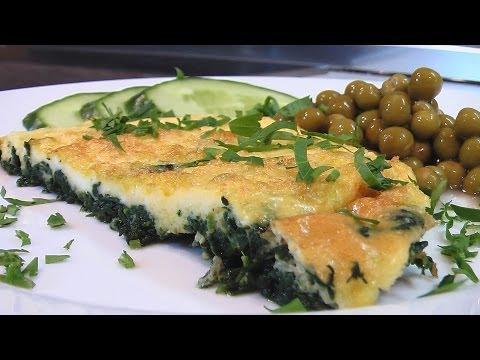 Шпинат, запеченный с яйцом видео рецепт. Книга о вкусной и здоровой пище