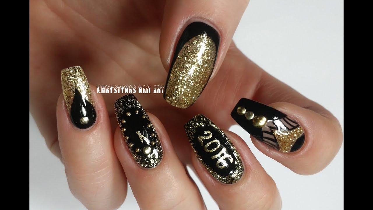 Nail Art per unghie da Strega Fatata ♥ VIDEOTUTORIAL