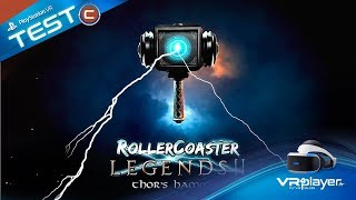 PlayStation VR PSVR : RollerCoaster Legends 2 Test VR4player